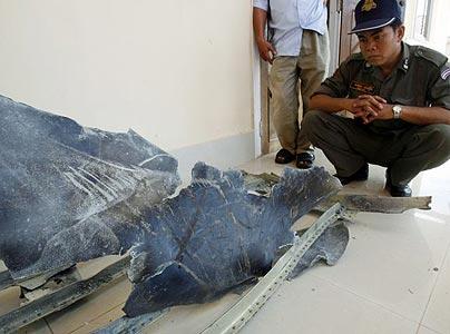 Над Вьетнамом потерпел крушение НЛО