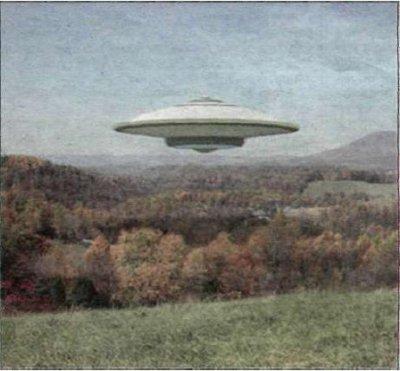 Увидевшие НЛО очевидцы в 2008 году утверждают