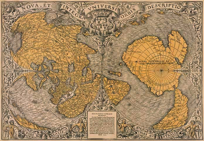 Оронтеус Финеус 1531 год
