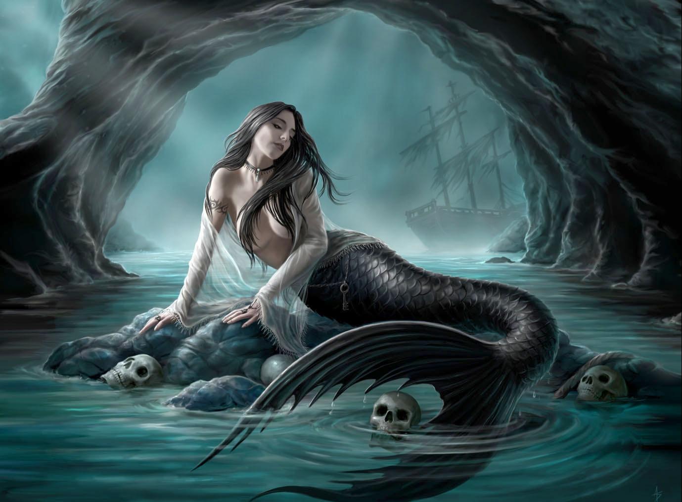Русалки — одни из самых загадочных и наиболее симпатичных мифологических персонажей.